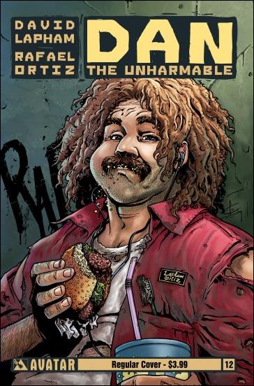 Dan the Unharmable 12-A by Avatar Press