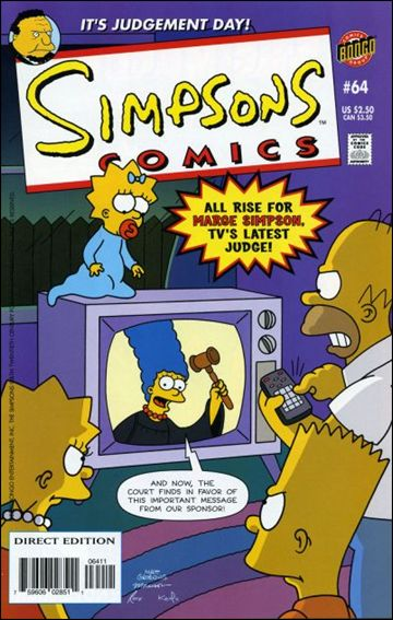 Simpsons Comics 64-A by Bongo