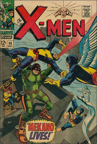 X-Men (1963) 36-A by Marvel