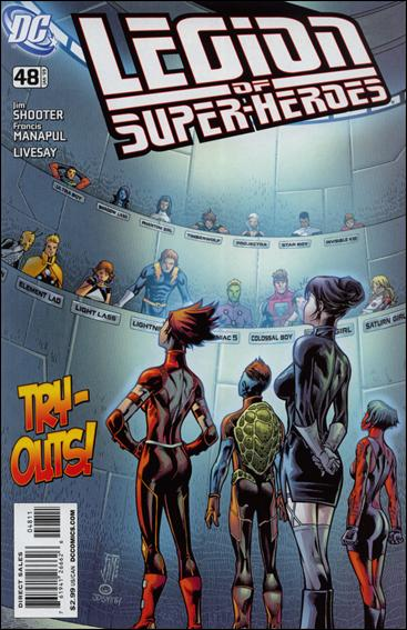 Legion of Super-Heroes (2005) 48-A by DC