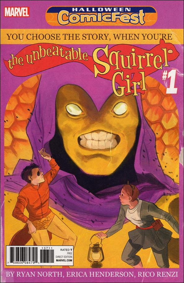 Unbeatable Squirrel Girl: You Choose the Story 1-A by Marvel