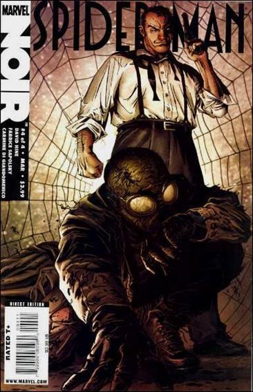 Spider-Man Noir (2009) 4-A by Marvel