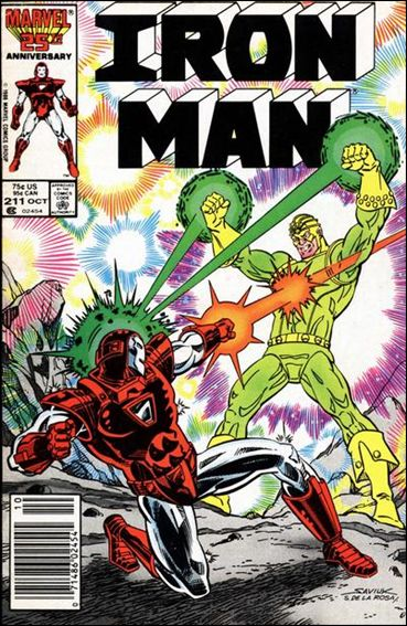 Iron Man (1968) 211-A by Marvel