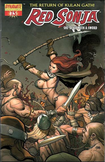 Red Sonja (2005) 13-A by Dynamite Entertainment