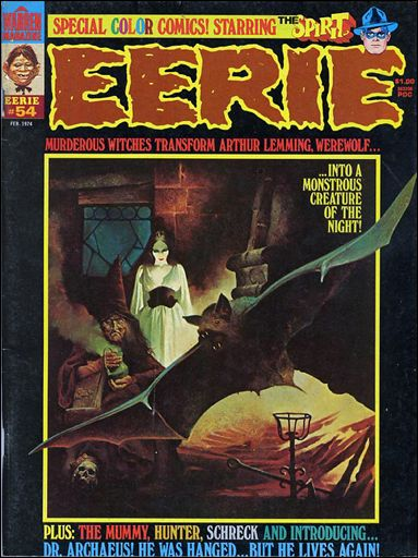 Eerie 54-A by Warren