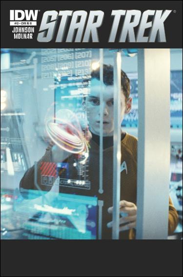 Star Trek (2011) 13-C by IDW