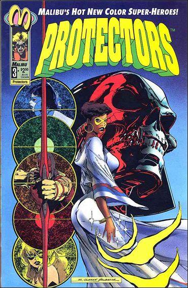 Protectors (1992) 3-A by Malibu