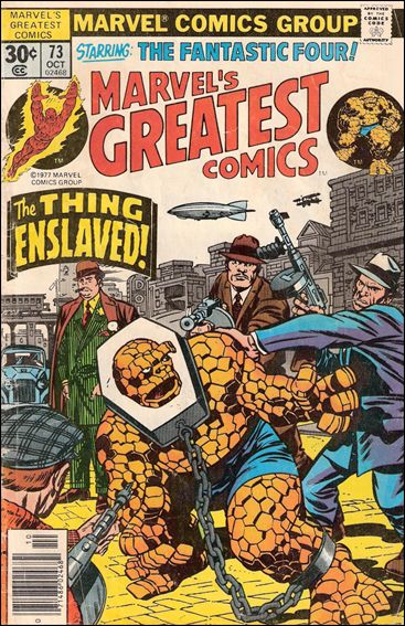 Marvel's Greatest Comics 73-A by Marvel