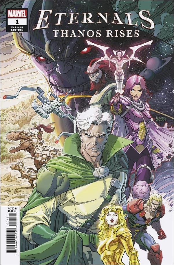 Eternals: Thanos Rises 1-E by Marvel