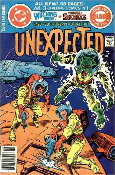 Unexpected (1968) 191-A by DC