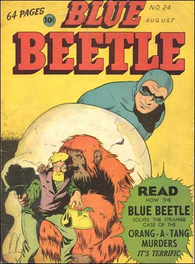 Blue Beetle (1939) 24-A by Fox