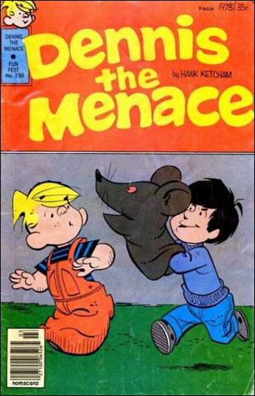 Dennis the Menace (1953) 156-A by Standard