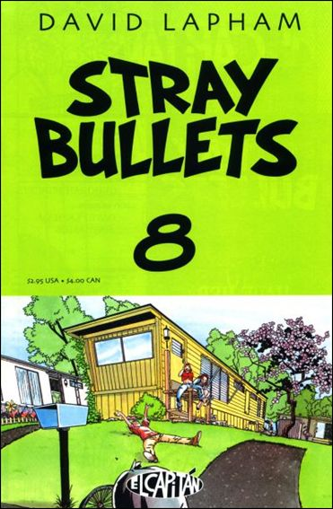Stray Bullets 8-A by El Capitan
