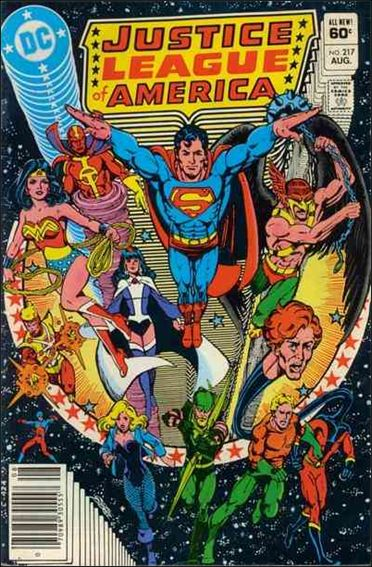 Justice League of America (1960) 217-A by DC