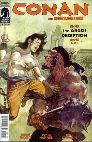 Conan the Barbarian (2012) 5-A by Dark Horse