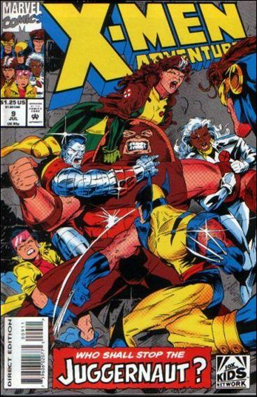 X-Men Adventures (1992) 9-A by Marvel