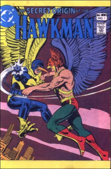 Secret Origin of Hawkman 1-A by DC