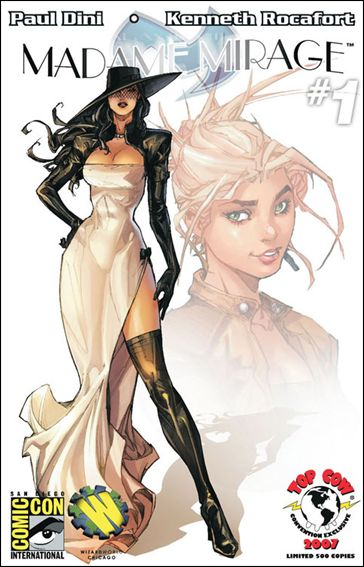 Madame Mirage 1-E by Top Cow