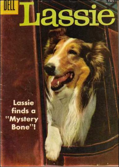 Lassie (1950) 38-A by Dell
