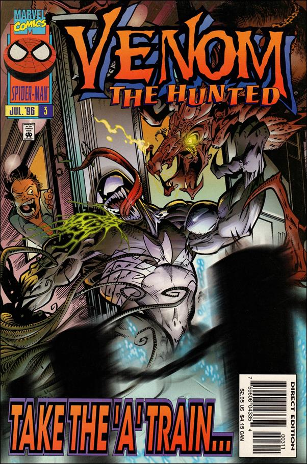 Venom: The Hunted 3-A by Marvel