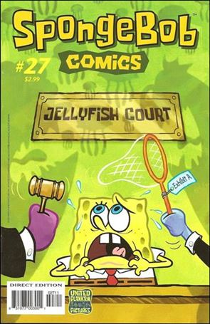 SpongeBob Comics 27-A