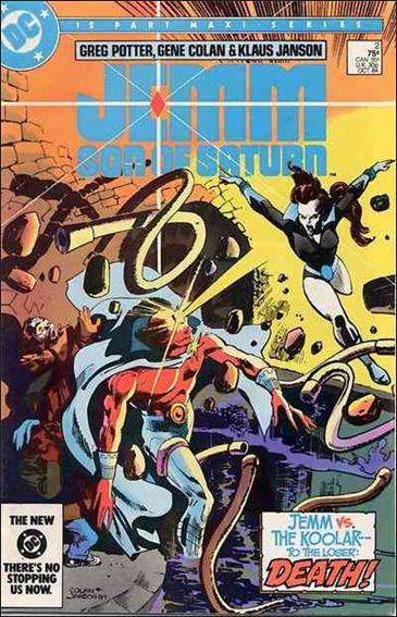 Jemm, Son of Saturn 2-A by DC
