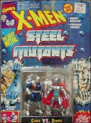 X-Men Steel Mutants (2-Packs) Cable vs Stryfe