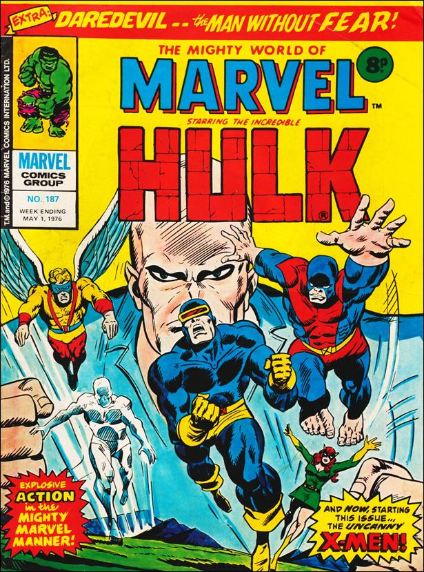 Mighty World of Marvel (UK) (1972) 187-A by Marvel UK