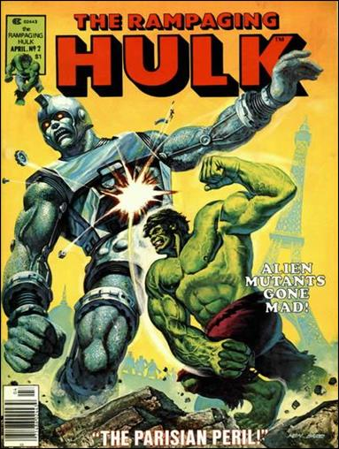 Rampaging Hulk (1977) 2-A by Marvel
