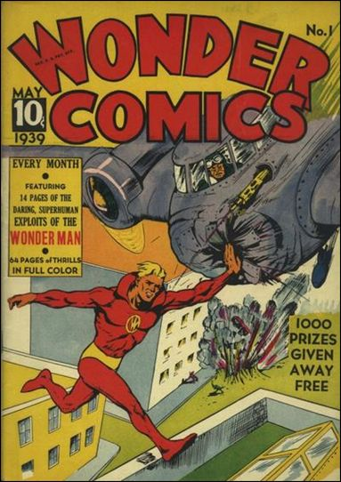Wonder Comics (1939) 1-A by Fox