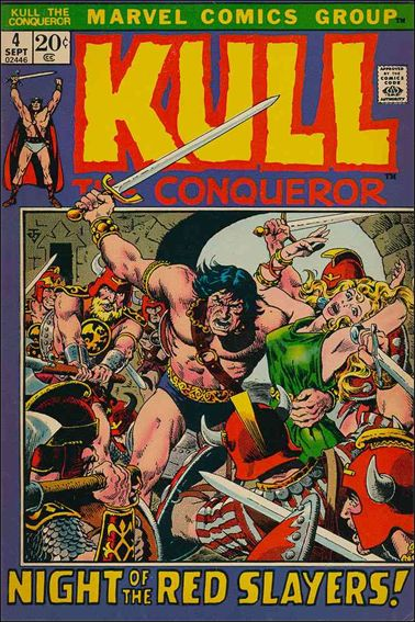 Kull the Conqueror (1971) 4-A by Marvel