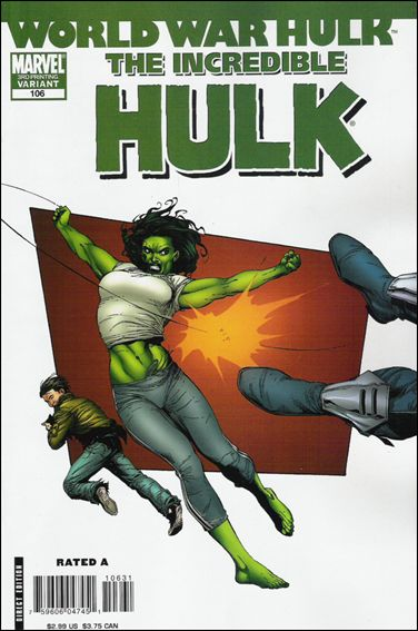Incredible Hulk (2000)  106-C by Marvel