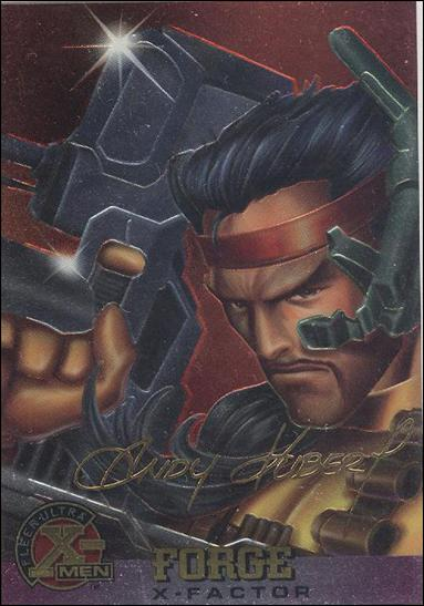 1995 Fleer Ultra X-Men All Chromium (Gold Signature Parallel Base Set) 14-A by Fleer