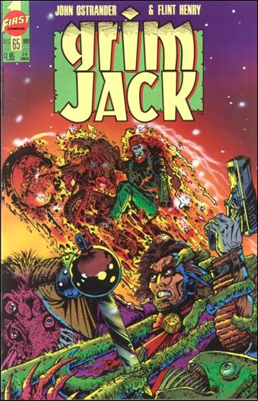 Grimjack 65-A by First