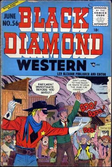 Black Diamond Western 56-A by Lev Gleason Productions