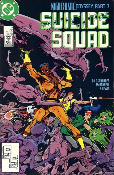 Suicide Squad (1987) 15-A by DC