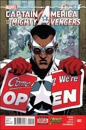 Captain America & The Mighty Avengers 2-A