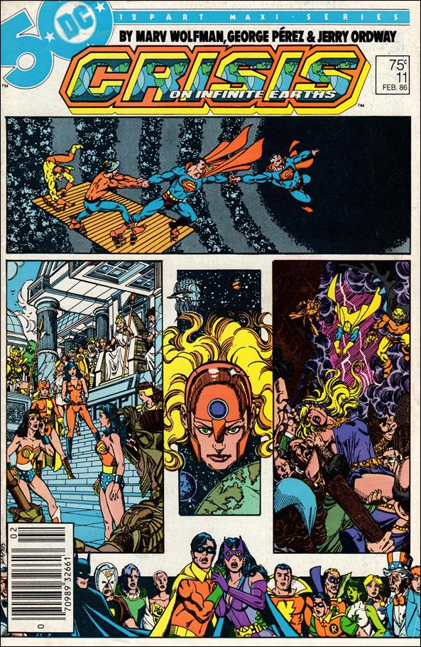Crisis on Infinite Earths 11-A by DC