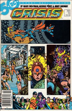 Crisis on Infinite Earths 11-A