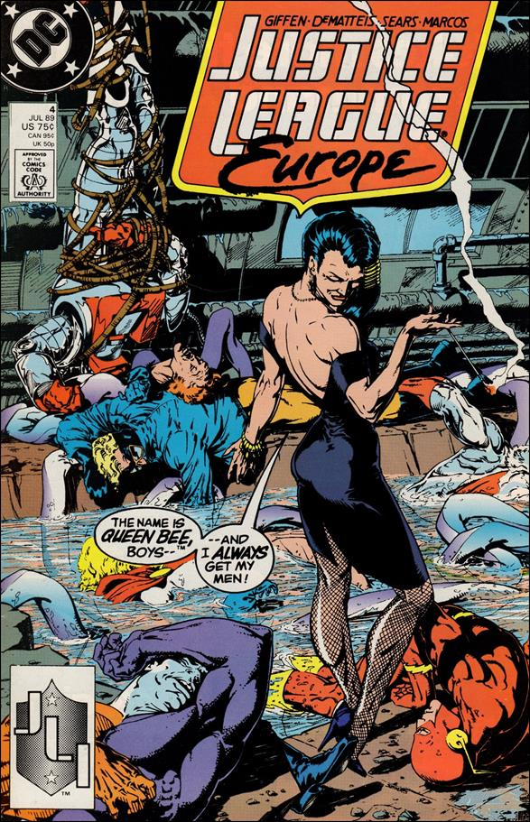 Justice League Europe 4-A by DC