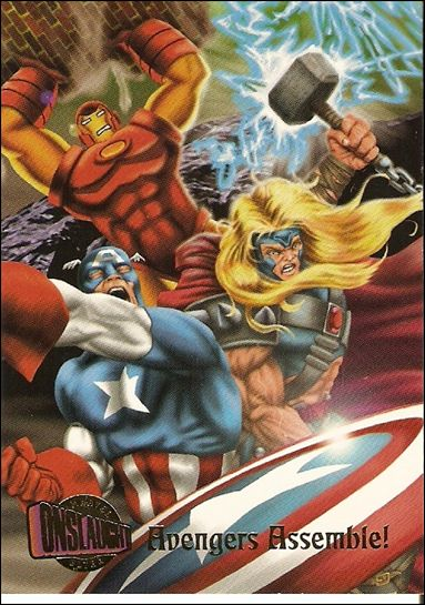 Marvel Ultra: Onslaught (Base Set) 70-A by Fleer/SkyBox