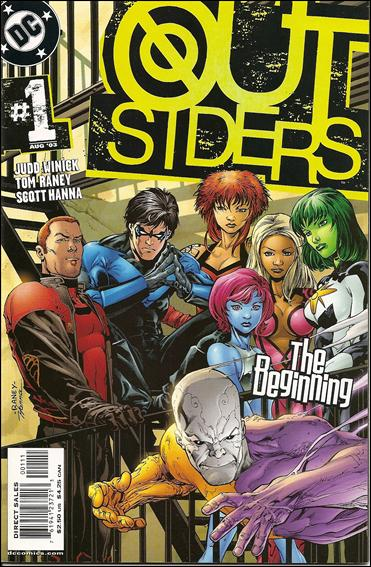 Outsiders (2003) 1-A by DC