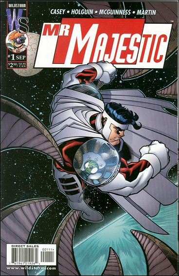 Mr. Majestic 1-B by WildStorm