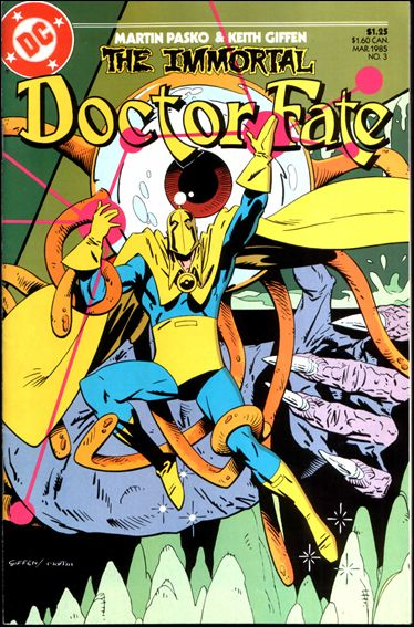 Immortal Doctor Fate 3-A by DC