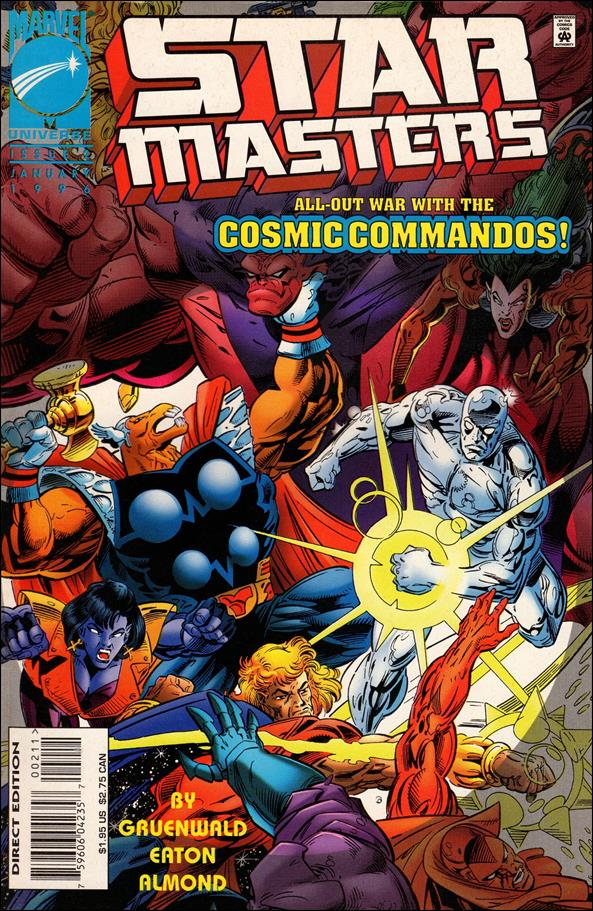 Star Masters (1995) 2-A by Marvel