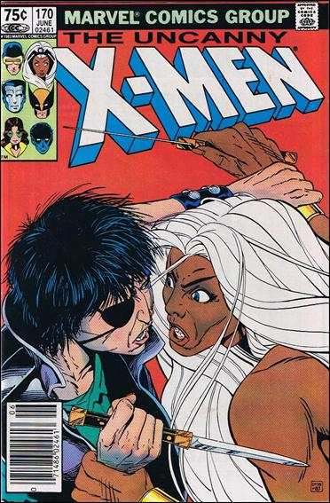 Uncanny X-Men (1981) 170-B by Marvel