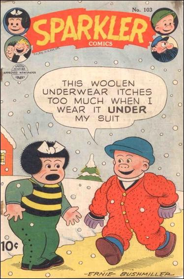 Sparkler Comics (1941) 103-A by United Features Syndicate