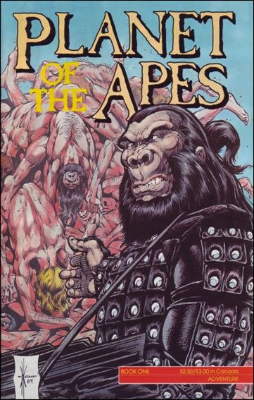Planet of the Apes (1990) 1-A by Adventure
