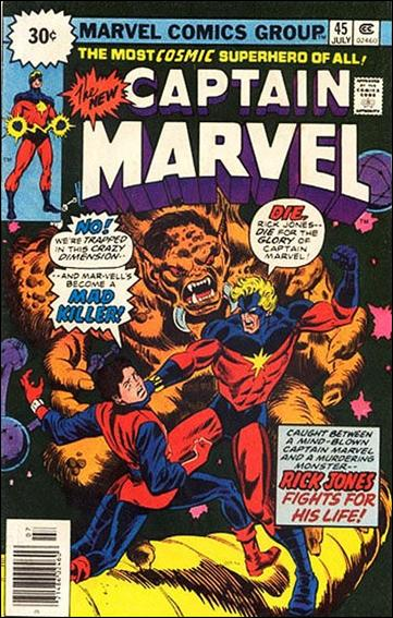 Captain Marvel (1968) 45-B by Marvel