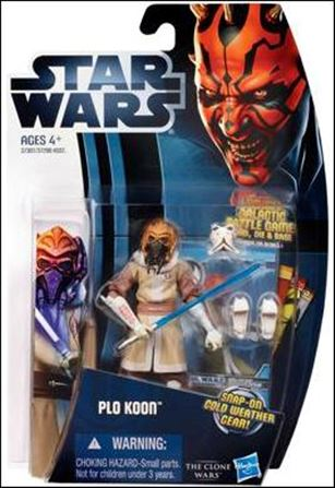 "Star Wars: The Clone Wars Collection 3 3/4"" Figures (2012) Plo Koon"